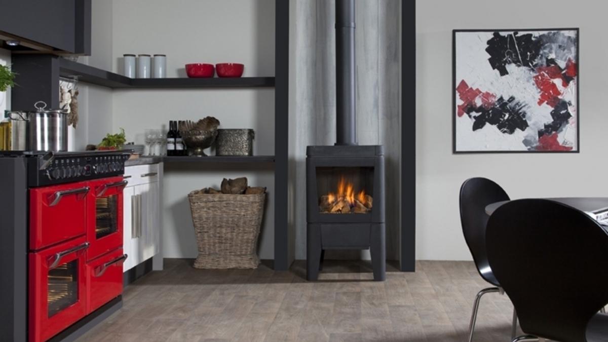 vrijstaande kachels gas en hout van de merwe. Black Bedroom Furniture Sets. Home Design Ideas